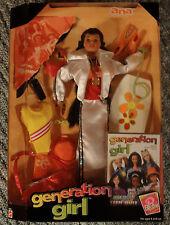 Mattel Barbie Generation Girl Ana 20972 Body Boarding NRFB 1998 6+ Accessories