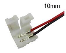 CONNETTORE STRISCIA LED 5050 chiudere bobina alimentazione unire cavo filo 10 mm