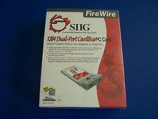 SIG Firewire 1394 Dual-Port Card Bus