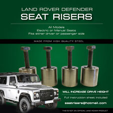 Land Rover DEFENDER SEAT RISERS - All Models - Defender 90 110 Truck Cab