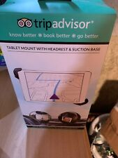Trip Advisor Tablet Mount with Headrest and & Suction Base