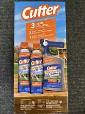 Cutter Backyard Bug Control Bundle Includes 3 Items Outdoor Foggers & Sprays New