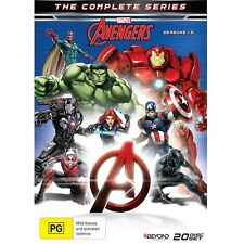 Avengers The Complete Series (Seasons 1-5) 20-Disc Box-Set (DVD Region 4) Rare