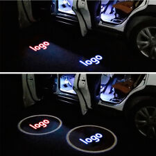 2pcs For SAAB Logo Led Door Courtesy Welcome Projector Ghost Shadow Laser Light