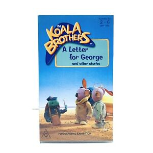 The Koala Brothers - ALetter For George (RARE VINTAGE VHS)   FREE TRACKED POST
