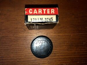 NOS 1956 Pontiac Star Chief V8 317 Carter WCFB Carburetor Choke Coil Thermostat