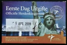 Nederland Coincard eerste dag van uitgifte Manhattan 5 euro 2009