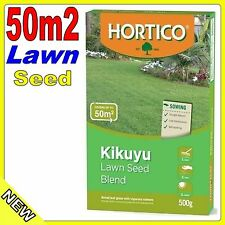 Hortico Kikuyu Lawn Grass Seed Blend 500g Covers up to 50m2 NEW repair
