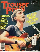Trouser Press Magazine #44 November 1979  - Talking Heads - B52s - Kinks