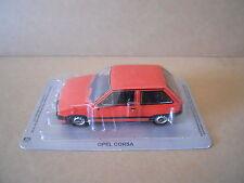 Legendary Cars OPEL CORSA RED ROSSA Die Cast 1:43 [MV23]