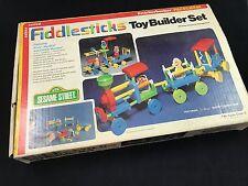 1978 Vintage Sesame Street Knickerbocker Building Fiddlesticks COMPLETE Set wBOX