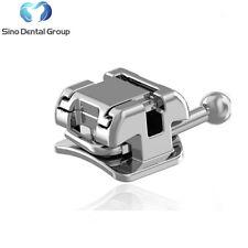10 X Sino Dental Orthodontic Metal Brackets Self Ligating Roth 0.022 345 Hook