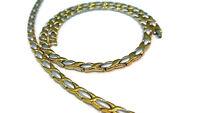 "XOXO Womens 2 Tone Hugs & Kisses Stampato Necklace 18"" Bracelet Set"
