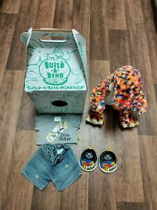 Build A Bear Build A Dino Diplodocus With Clothes Shoes And Original Box