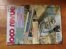 $$y Loco Revue N°549 CFB  Pershing  Genealogie VH  CC 40100  CC 71000  DETROI