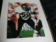 Mike Singletary Autographed Photo JSA Auction Certified
