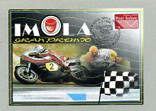 IMOLA GRAN PREMIO  CARTOLINA FILATELICA 1999