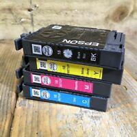 Genuine EPSON 18 Colour & Black x4 Cartridge - Printer Ink Bundle - Empty/Used