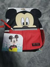 "Disney Mickey Mouse 10"" Harness Backpack cute toy daiper"
