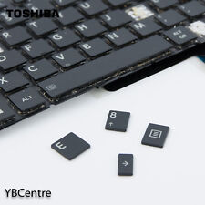 Single Key Toshiba Satellite L50D-B L50-B C50-B C55-B UK Layout clip+rubber+cap
