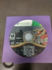 Sleeping Dogs XBOX 360 Action / Adventure (Video Game) polished disc only free