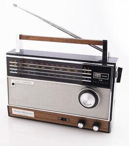 Vintage Longines Symphonette World Traveler 15 Transistor Multi Band Radio Japan