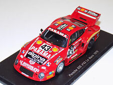 1/43 Spark Porsche 935 car #43 24 Hours of Le Mans 1979 Haldi Teran Loewe S3432