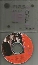 FIRST CALL Sweet Love w/ ART SILKSCREENED ON ACTUAL CASE LID  PROMO DJ CD single