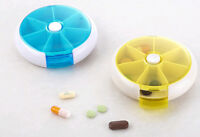 Weekly Daily Pill Box Organiser Medicine Tablet Storage Dispenser 7 Day Week UK