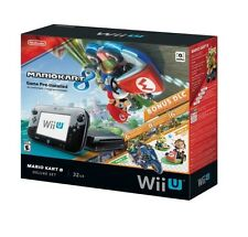 Nintendo Wii U 32GB Console Mario Kart 8 Pre-installed Deluxe Set - FREE SHIP™