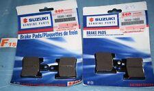 4 plaquettes de frein d'origine SUZUKI  AN 250 / 400 BURGMAN 59301-14880 neuf