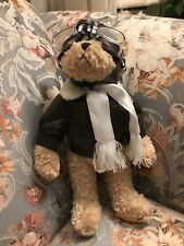 "12"" Fighter Pilot Articulated Teddy Bear Goggles Jacket Jointed AirForce UP3940L"