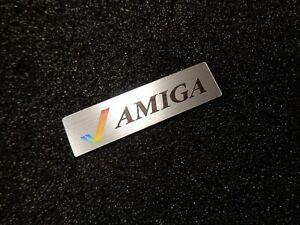 Commodore Amiga 600 1200 Color Label / Logo / Sticker / Badge 49 x 13 mm [459c]