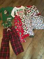Boys Size 4T Pajamas~Lot Of 9~EC~Baby Gap, Disney, The Children's Place & more