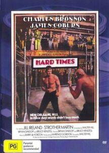 Hard Times DVD Charles Bronson New Sealed Australian Release