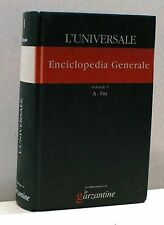 L'UNIVERSALE. ENCICLOPEDIA GENERALE [Libro, Bol.1 - A-Fru]