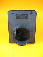 "Nikon  Microscope Light Housing 2 Adapter Ports 4""x3-1/4""x3-1/8"" 50mm ID Dia"