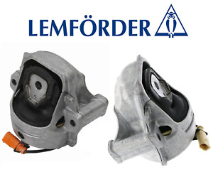 OEM Engine Motor Mount Hydraulic Set Lt & Rt 2pc Lemforder Audi allroad Q5 2.0L