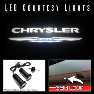Lumenz CL3 LED Courtesy Logo Lights Ghost Shadow Chrysler 100572