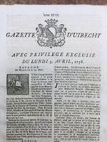 Dentiste à Anvers 1758 Königsberg Breslau Wroclaw Emmerich Bostuchel Utrecht
