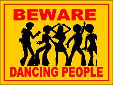 Funny caution warning Pub Sign, drinking bar signage, 20cm x 15cm Free P&P