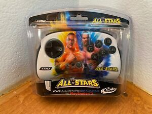 NEW MadCatz wireless Fight Pad Brawl USB PS3 PC Hulk Rock Cena Triple H
