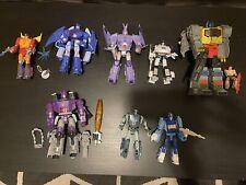 Transformers Studio Series 86 loose lot of 8-Galvatron, Grimlock, Cyclonus, Jazz