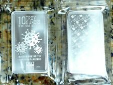 NEW - 10 oz Envela 999 Silver Bar - 2020 Pandemic Bars(Sealed) - JUST IN!