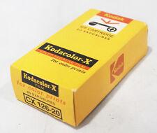 Kodak Kodacolor-X CX 126-20 126 Cartridge NOS exp 04/1974 #790