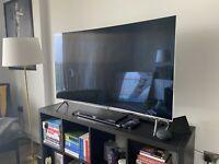 "55"" KS7500 Curved SUHD Quantum Dot Ultra HD HDR 1000 TV + AMAZON 4K FIRECUBE"