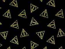 Fat Quarter Harry Potter Fabric Macusa Triangle 100% Cotton Camelot Quilting Fq