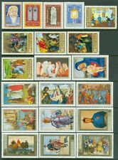 EDW1949SELL : MONGOLIA Neat group of all Very Fine, Mint NH Complete sets & S/S