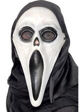 Masque Hurlement Brille dans le Noir Adultes Halloween Screamer Accessoire