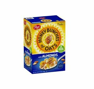 Post Honey Bunches of Oats with Crispy Almonds Breakfast Snacks Kosher (48 oz.)